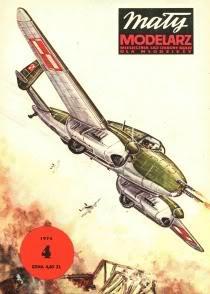 ММ 4 /1974 Самолет PZL P-38 Волк
