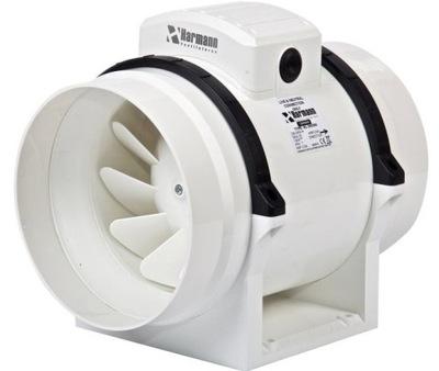 Ventilátor - Kanálový ventilátor ML 150/550 556 m3 / h + REGULÁTOR