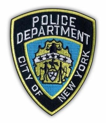 Полиция нью-ЙОРКА Полоса Police Department City of New Йорк