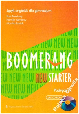 Boomerang New Starter Podręcznik+CD-ROM NOWY engli