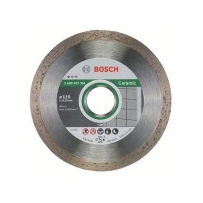 Rezací kotúč - BOSCH DIAMOND SHIELD PRE GLAZOVÉ DLAŽBY 115x22.2