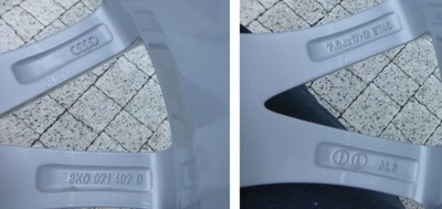 "Audi a4 8K0 17"" bdb.stan wys. grat"