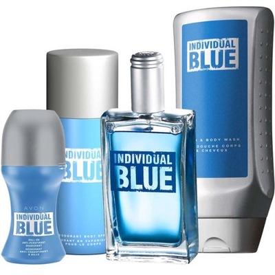 INDIVIDUAL BLUE комплект 4 -частичный Эйвон
