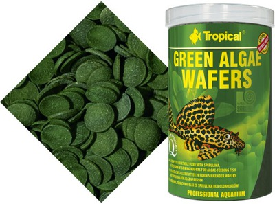 Tropical GREEN ALGAE WAFERS 1000ml./440gr +