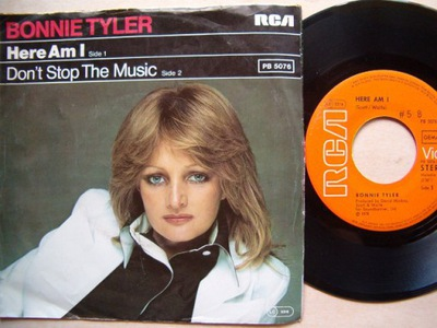 BONNIE TYLER - HERE AM I - DON'T STOP YHE MUSIC
