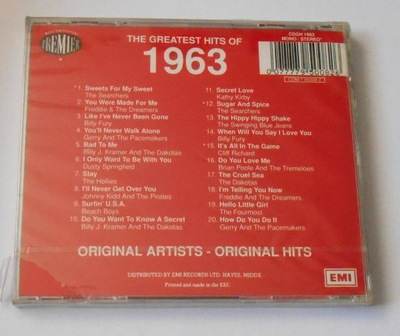 The Greatest Hits Of 1963