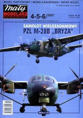 MM 4-5-6/2007 SAMOLOT PZL M-28B  BRYZA