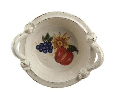 MISA ceramiczna 'fruit' DEKORACJE,WAZONY -30% HIT