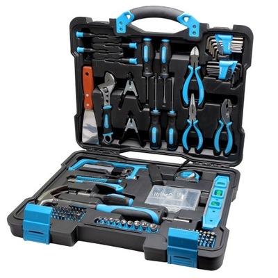 мега комплект инструментов 144 элементов 58144 ключи