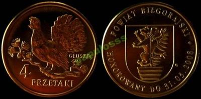 4 Przetaki - Głuszec - I emisja Biłgoraj - OKAZJA