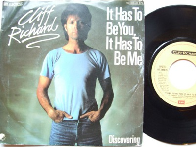 CLIFF RICHARD - IT HAS TO BEE YOU...- DISCOVERING