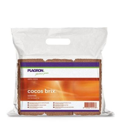 Plagron кокос brix 9л Кокос субстрат Кокосовое
