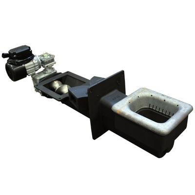 Liatinová dávkovacia skrutka pre pec pri 25 kW