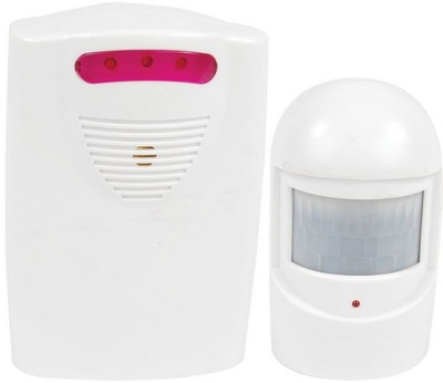Mini ALARM s pohybovým senzorom signálu, vstupy