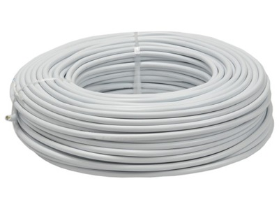 Kábel-jednosmerný (DC) kábel NOVÉ 4x1 biela 100m