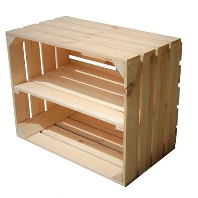 ящики деревянные коробка деревянная С ПОЛКОЙ