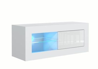СТОЛИК RTV Белый 100 СМ блеск ? 45 +  LED