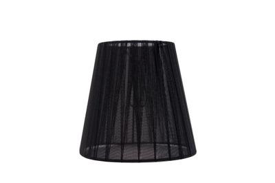 Абажур Конус органза Черный 10х15 ,5x15 см