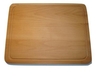 Deska kuchenna do krojenia 45x35x2 DREWNIANA