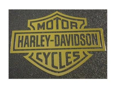 222c MOTOR HARLEY-DAVIDSON CYCLES GOLD 60x46 mm