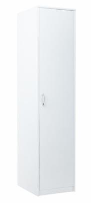 шкаф jednodrzwiowa шкаф стойка стеллаж 1D2P белая