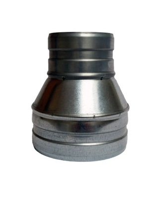 Zníženie 125/100 hadice kapota spiro potrubia aluflex