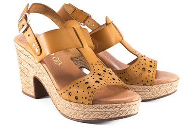 miodowe sandały