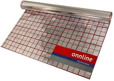 Podlahové vykurovanie - Hliníková fólia na podlahové kúrenie 200 m2