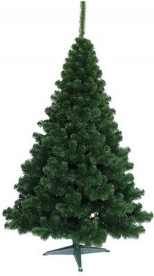 Vianočné stromčeky - UMELÝ STROM ZELENÝ SMREK 100 CM LUX STOJAN