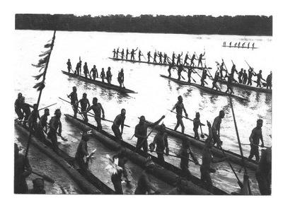 П / я. - Papuasi на реке / - Новая Гвинея, 1907