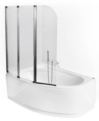 Sprchové dvere - Kúpeľňa 3-dielna 123,5x139 Besco
