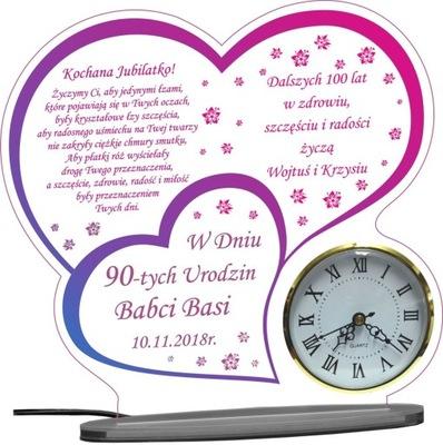 50 60 70 80 90 день рождения подарок часы ( XL