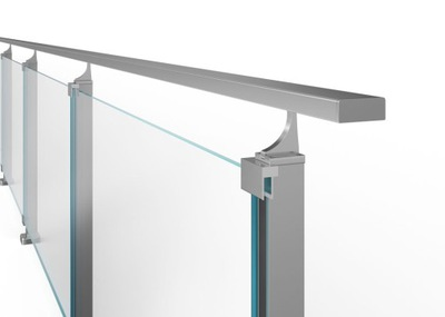 Балюстрада алюминиевая 3 мб, современный Узор , CE
