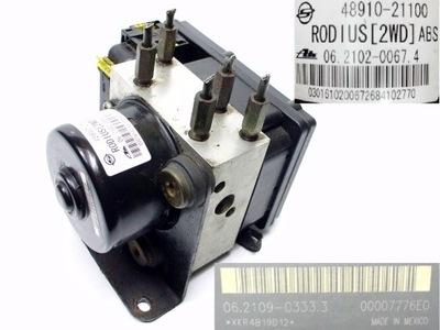 SSANGYONG RODIUS 2.7 XDI НАСОС ABS 48910-21100