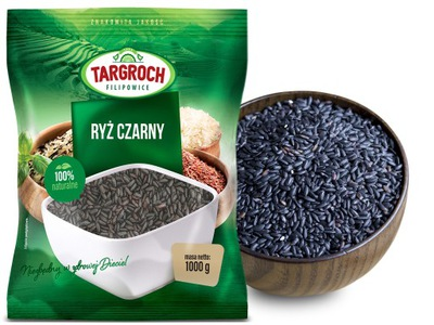 Рис Черный - 1кг - TARGROCH