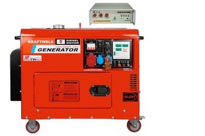 Приводимый в действие генераторная установка 9 ,8КВ Дизельные 400В ОВД SILENT