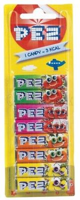Конфеты PEZ 8 штук 4 АРОМАТЫ из Германии