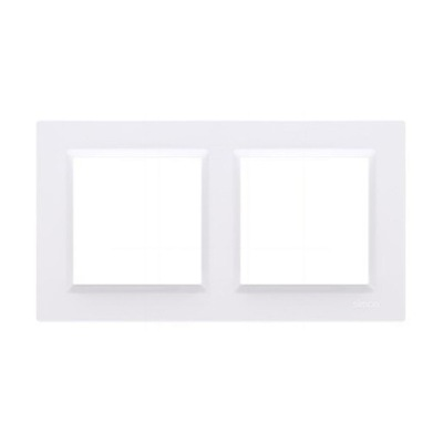 САЙМОН 10 рамка двойная белая CR2/11