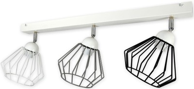 stropné svietidlo luster moderný loft retro