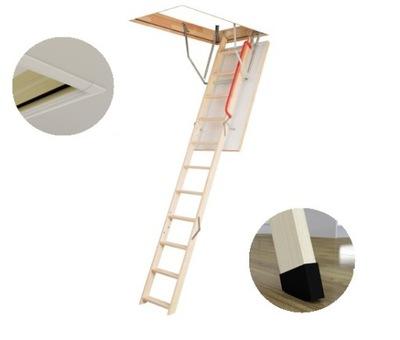 Лестница на чердак 70x120 120x70 + планки FAKRO
