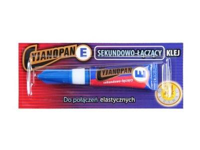 CYJANOPAN E УПЛОТНЯЮТ Клей 2Г Синий гибкий продукт