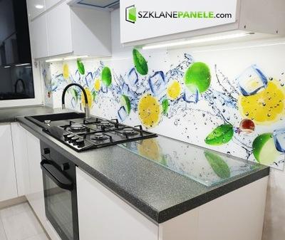 Panele Szklane Szyba Do Kuchni Zioła Przyprawa