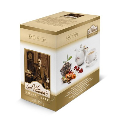 Сэр Уильямс Royal Taste Lady White 50 чаев