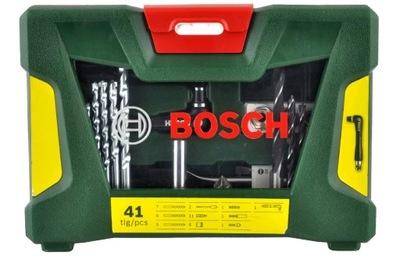 комплект V-LINE 41szt. СВЕРЛ и НАКОНЕЧНИКОВ Bosch