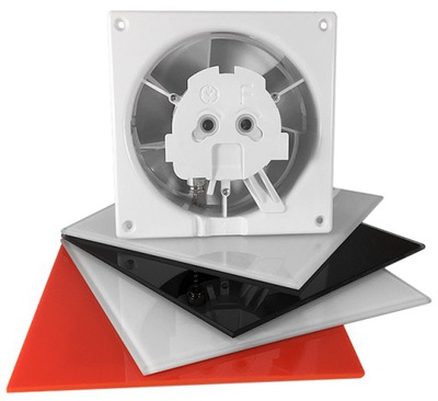 airRoxy Ventilátor steny 100 mm 15W dRim