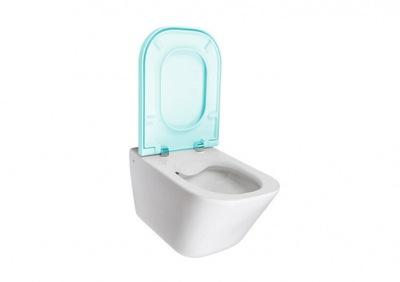 WC misa - Záchodová mísa, WC sedátko, RIMLESS GAP, ROCA