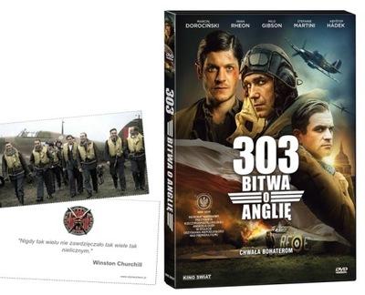 Дивизион 303 БИТВА ЗА БРИТАНИЮ DVD Новый пленка + КАРТА