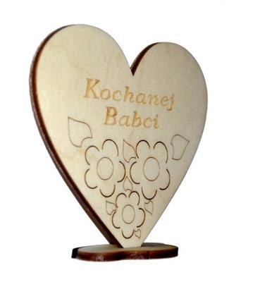 сердце на подставке для БАБУШКИ День Бабушки DB4