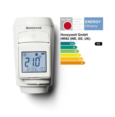 Úspora energie hlavy chráni HR92EE Evohome