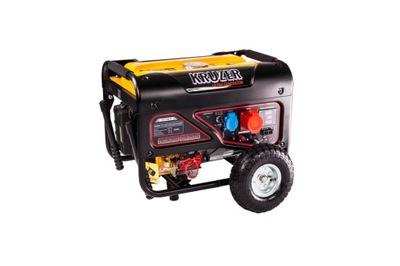 Generátor, príslušenstvo pre generátor - Generátor napájania KRUZER 3500W AVR 3F EL.START